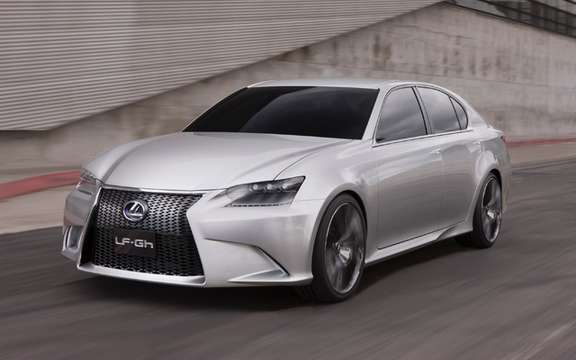 Lexus GS 2012: A world first has Pebble Beach