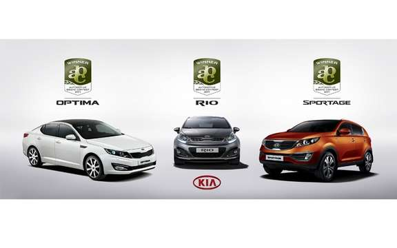 Kia clinched four design awards in the context of a new competition for automotive brands