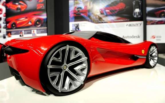 Ferrari World Design Contest: Win by a team of South Korea picture #2