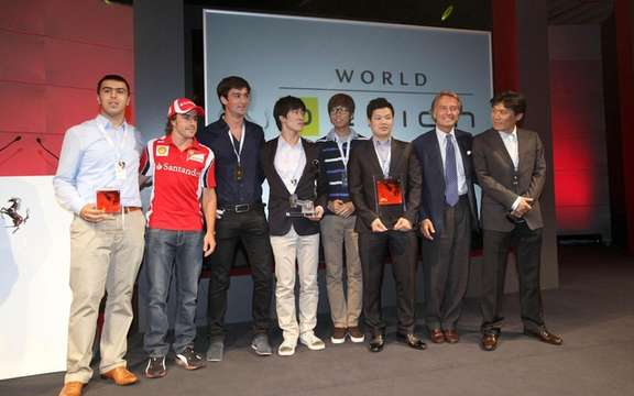 Ferrari World Design Contest: Win by a team of South Korea picture #3