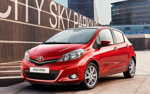 Toyota Yaris 2012: Unveiling of the European Version