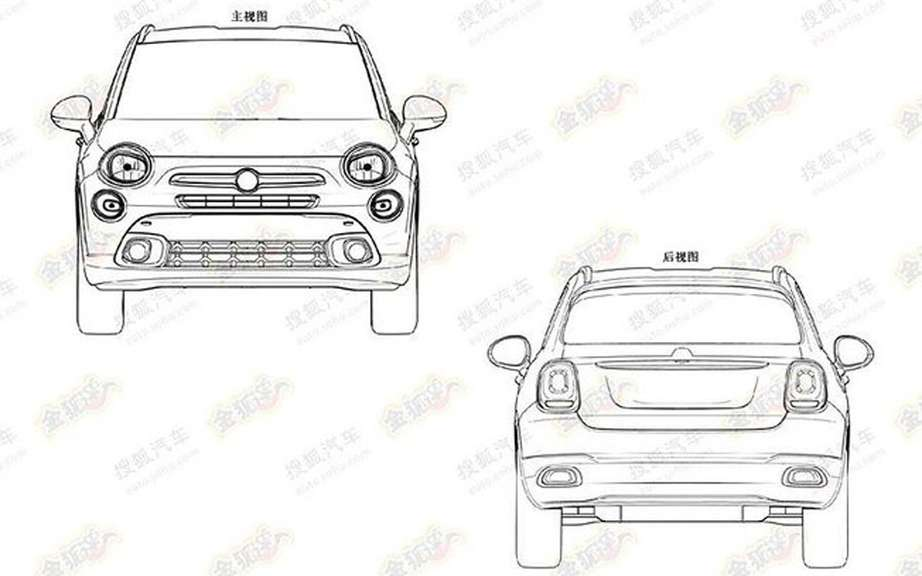Fiat 500X: First the sketches picture #7