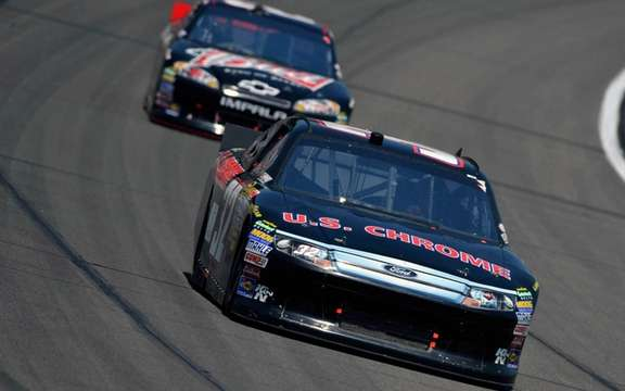 NASCAR at Michigan this weekend without Patrick Carpentier