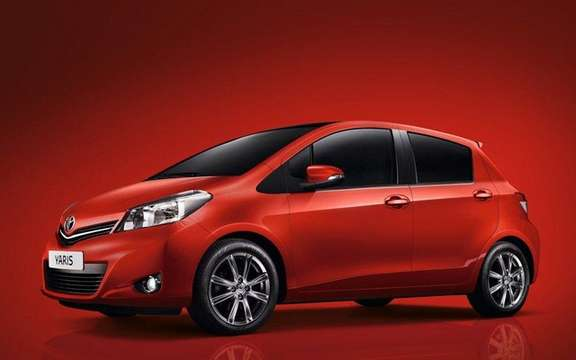 Toyota Yaris 2012: Unveiling of the European Version picture #2