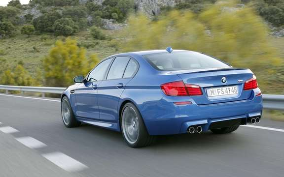 BMW M5 2012: A highly anticipated 5th generation picture #2