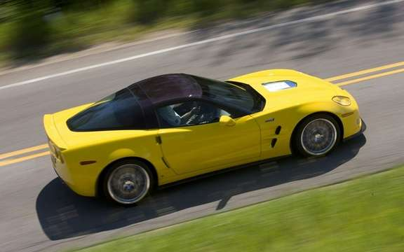 Chevrolet Corvette ZR1 2012: She returns to the Nurburgring picture #2