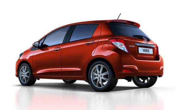 Toyota Yaris 2012: Unveiling of the European Version picture #4