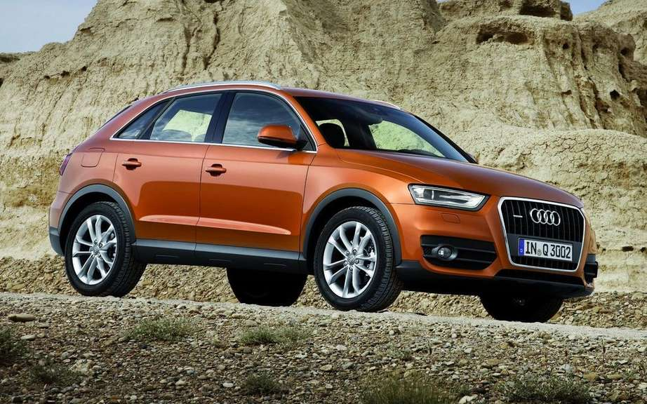 Audi Q3 2012: Beginning of a production