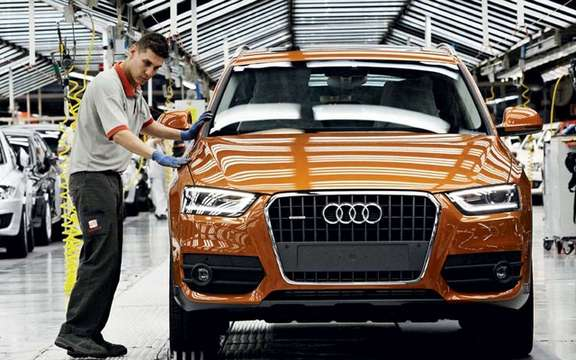 Audi Q3 2012: Beginning of a production picture #2