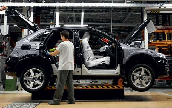 Audi Q3 2012: Beginning of a production picture #3