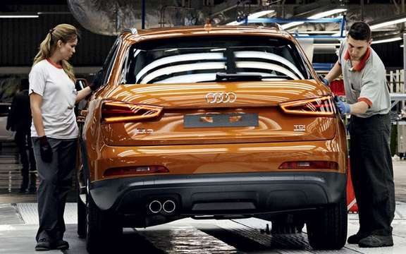 Audi Q3 2012: Beginning of a production picture #4