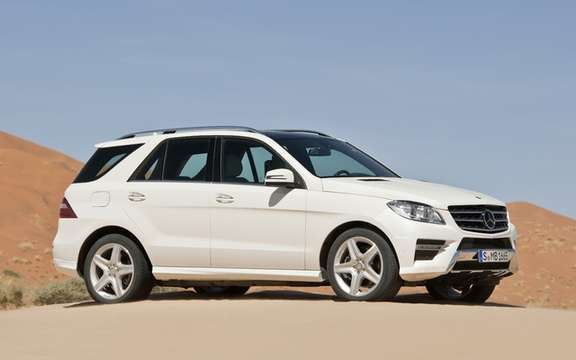 Mercedes-Benz M-Class 2012: A third generation which brings