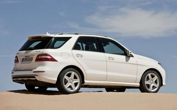 Mercedes-Benz M-Class 2012: A third generation which brings picture #2