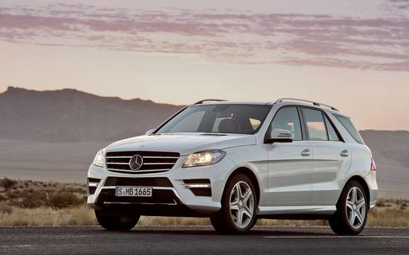Mercedes-Benz M-Class 2012: A third generation which brings picture #3