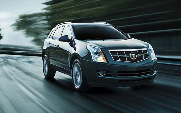2012 Cadillac SRX: A 3.6-liter engine more powerful