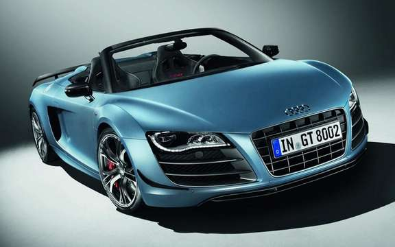 Audi R8 GT Spyder: The GT Cup officially loses its roof
