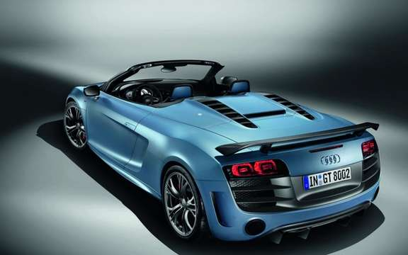 Audi R8 GT Spyder: The GT Cup officially loses its roof picture #2