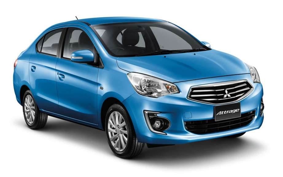 Mitsubishi Mirage G4: almost a world premiere in Montreal