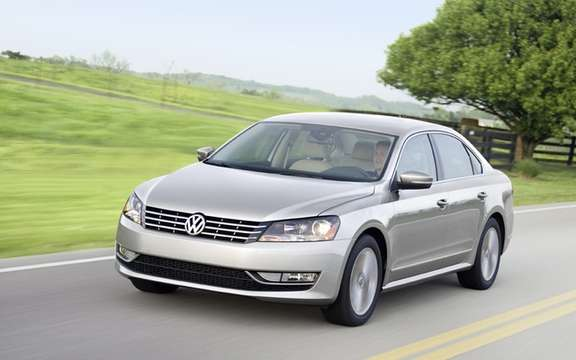 Volkswagen Canada announces price of 2012 Passat picture #1