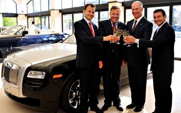 Rolls-Royce implements a new dealership in Montreal picture #1