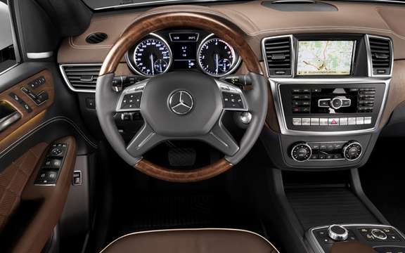 Mercedes-Benz M-Class 2012: A third generation which brings picture #8