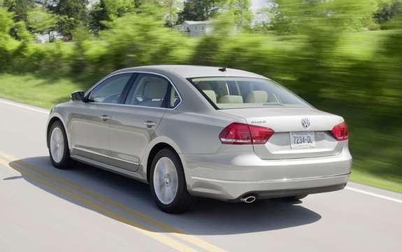 Volkswagen Canada announces price of 2012 Passat picture #2