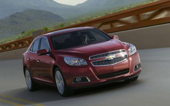 Chevrolet Malibu 2013: It will be available on six continents