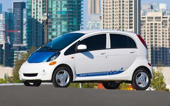 Mitsubishi i-MiEV 2012: From $ 32,998 in Canada