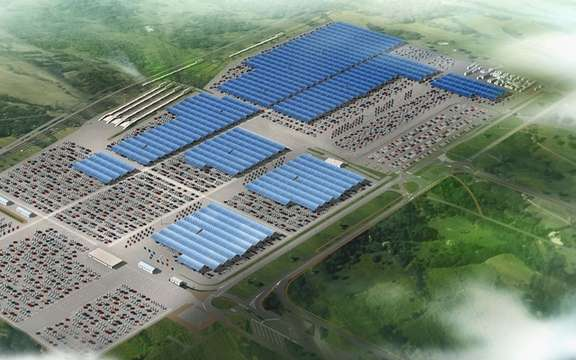 Renault launches the largest photovoltaic project global automotive