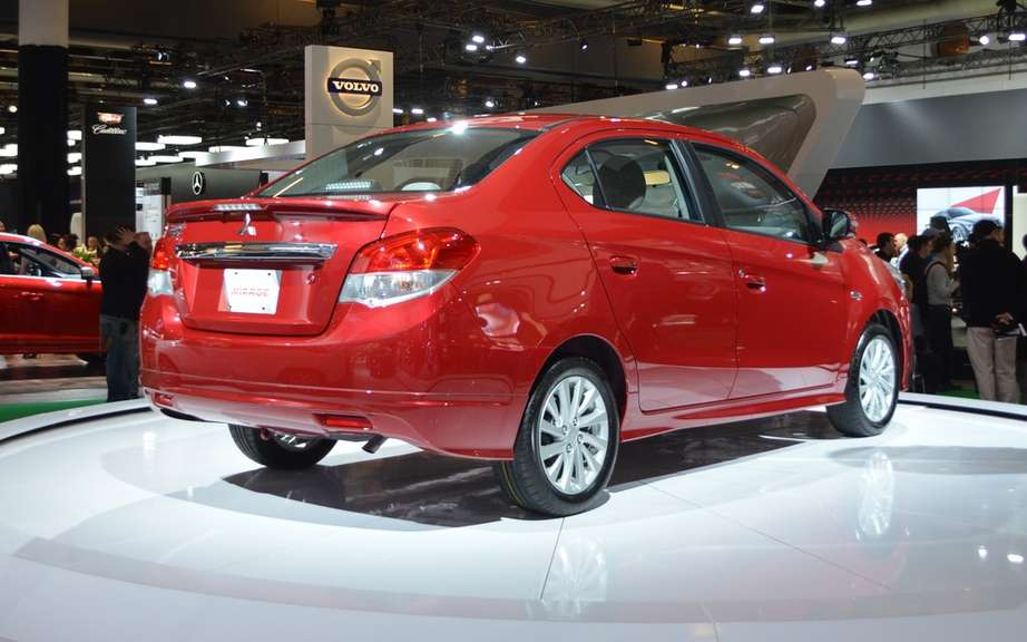 Mitsubishi Mirage G4: almost a world premiere in Montreal picture #5