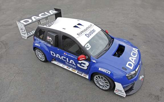 Dacia Duster 'No Limit' ready for the race of the most prestigious rating of the world