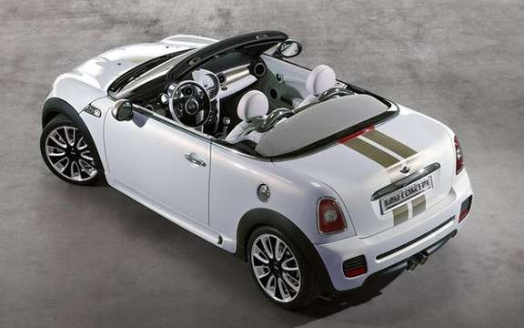 Mini Roadster 2012: Capote manual deployment picture #3
