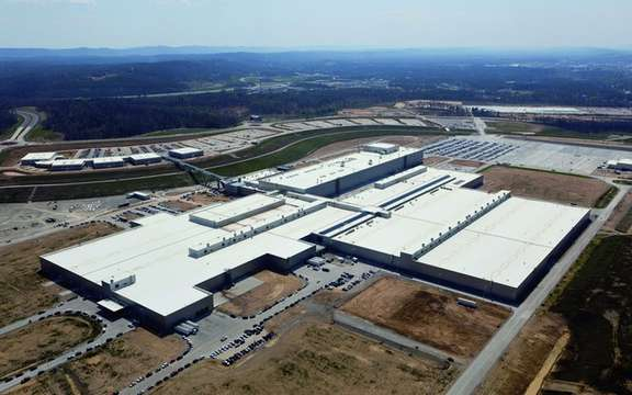 Volkswagen inaugurates its new American plant