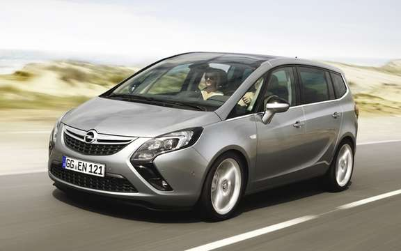 Opel Zafira Tourer: If she had come to America