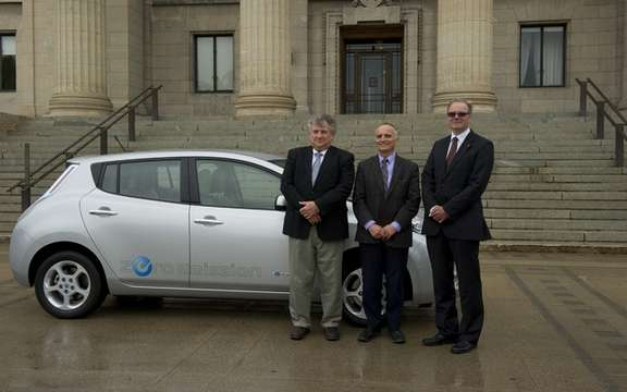 Nissan Canada joins a Manitoba Hydro picture #1