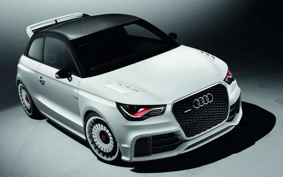 Audi A1 Clubsport Quattro Concept: Only 503 hp picture #1