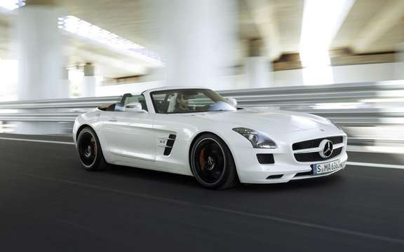 Mercedes-Benz SLS AMG Roadster: First official photos