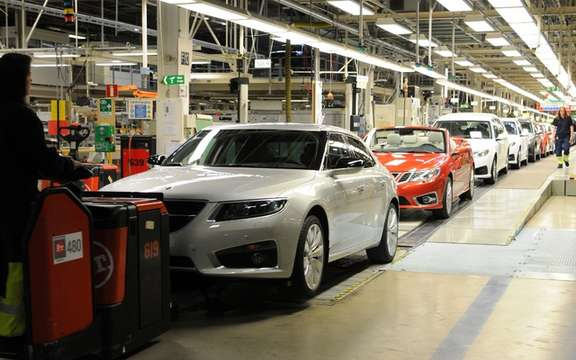 Saab resumed production of its cars picture #3