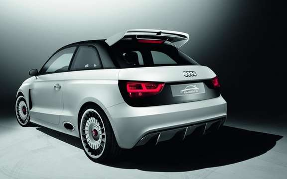 Audi A1 Clubsport Quattro Concept: Only 503 hp picture #2