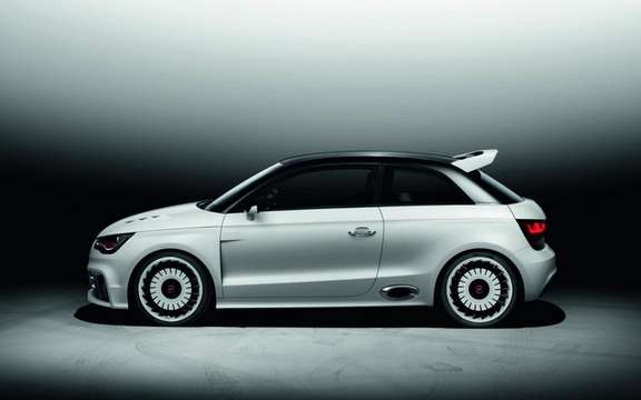 Audi A1 Clubsport Quattro Concept: Only 503 hp picture #3