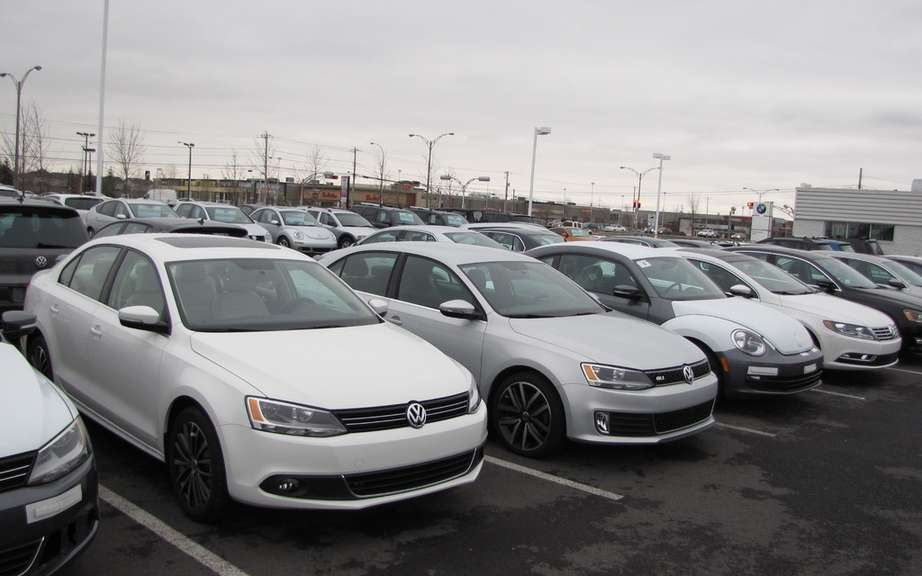The Canadian automotive industry record sales in 2013