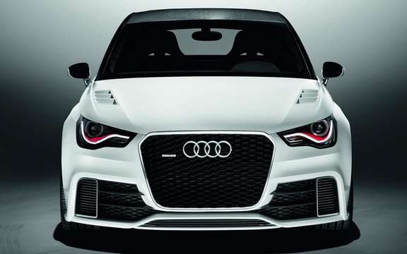 Audi A1 Clubsport Quattro Concept: Only 503 hp picture #4