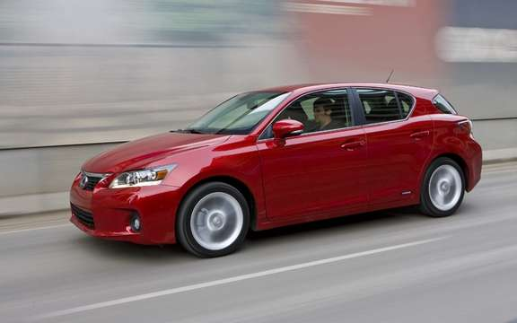 Lexus CT 200h: Best secutitaire choice in crash tests picture #2