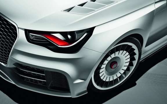 Audi A1 Clubsport Quattro Concept: Only 503 hp picture #5