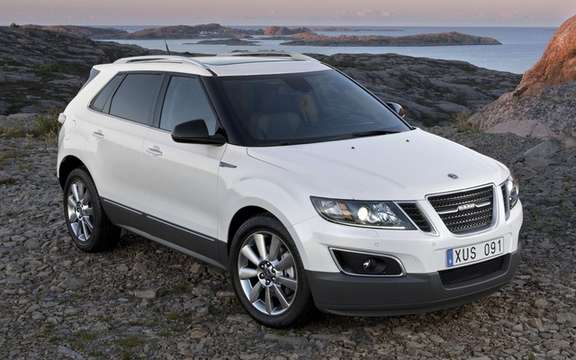 Saab 9-4X 2011: Assemble in Mexican soil