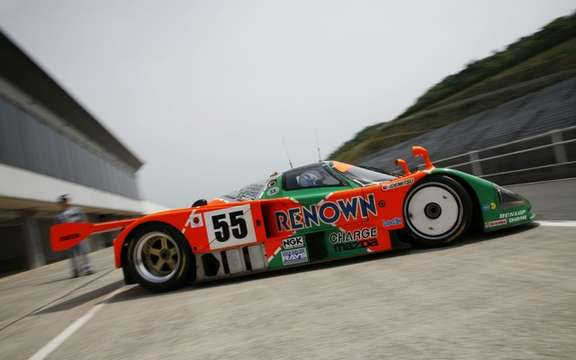 The Mazda 787B, winning the 24 Hours in 1991, returns to Le Mans after 20 years picture #2