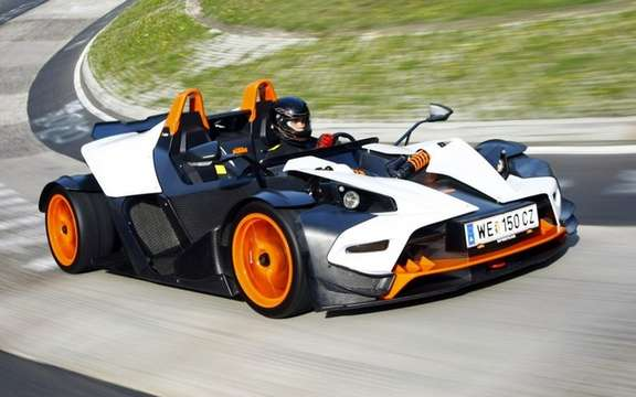 KTM X-Bow R: Belts four points of rigor picture #2