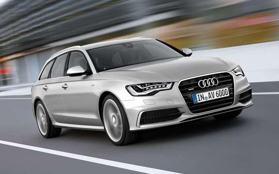 Audi A6 Avant 2012: World Premiere on the net
