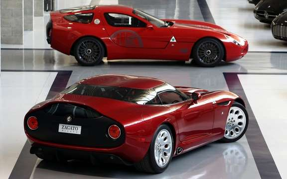 Alfa Romeo TZ3 Stradale by Zagato: Only 9 units produced picture #2
