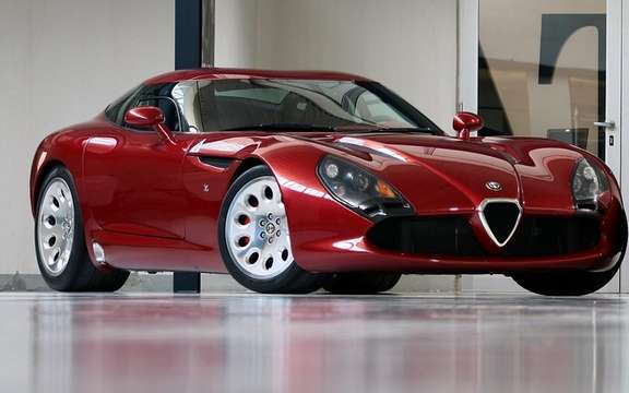 Alfa Romeo TZ3 Stradale by Zagato: Only 9 units produced picture #3